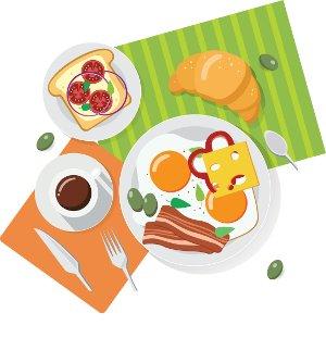 бесплатные завтраки