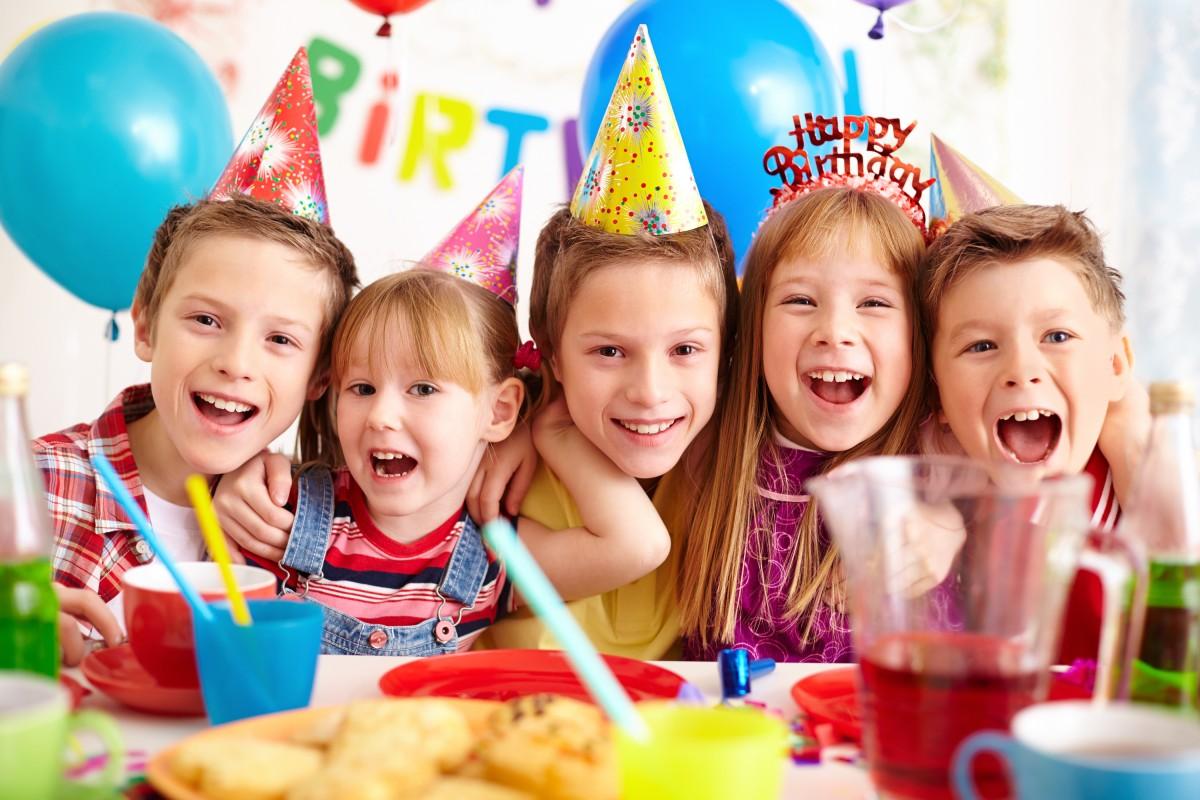 детский дни рождения